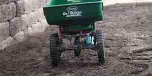 Spread Fertilizer by A Spreader