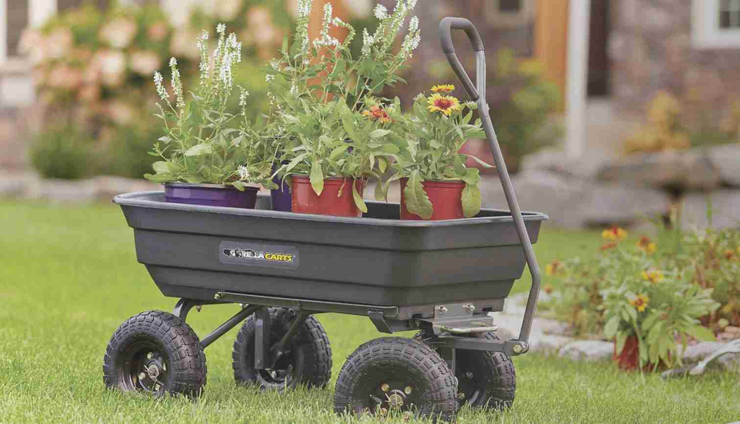 10 Best Wheelbarrow Reviews 2019 – Buy the Best One