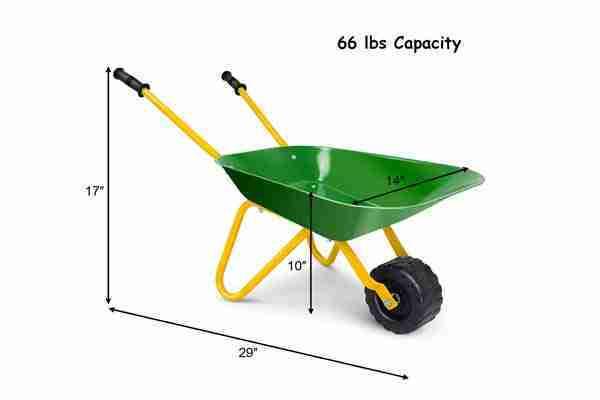 the best kid's wheelbarrow