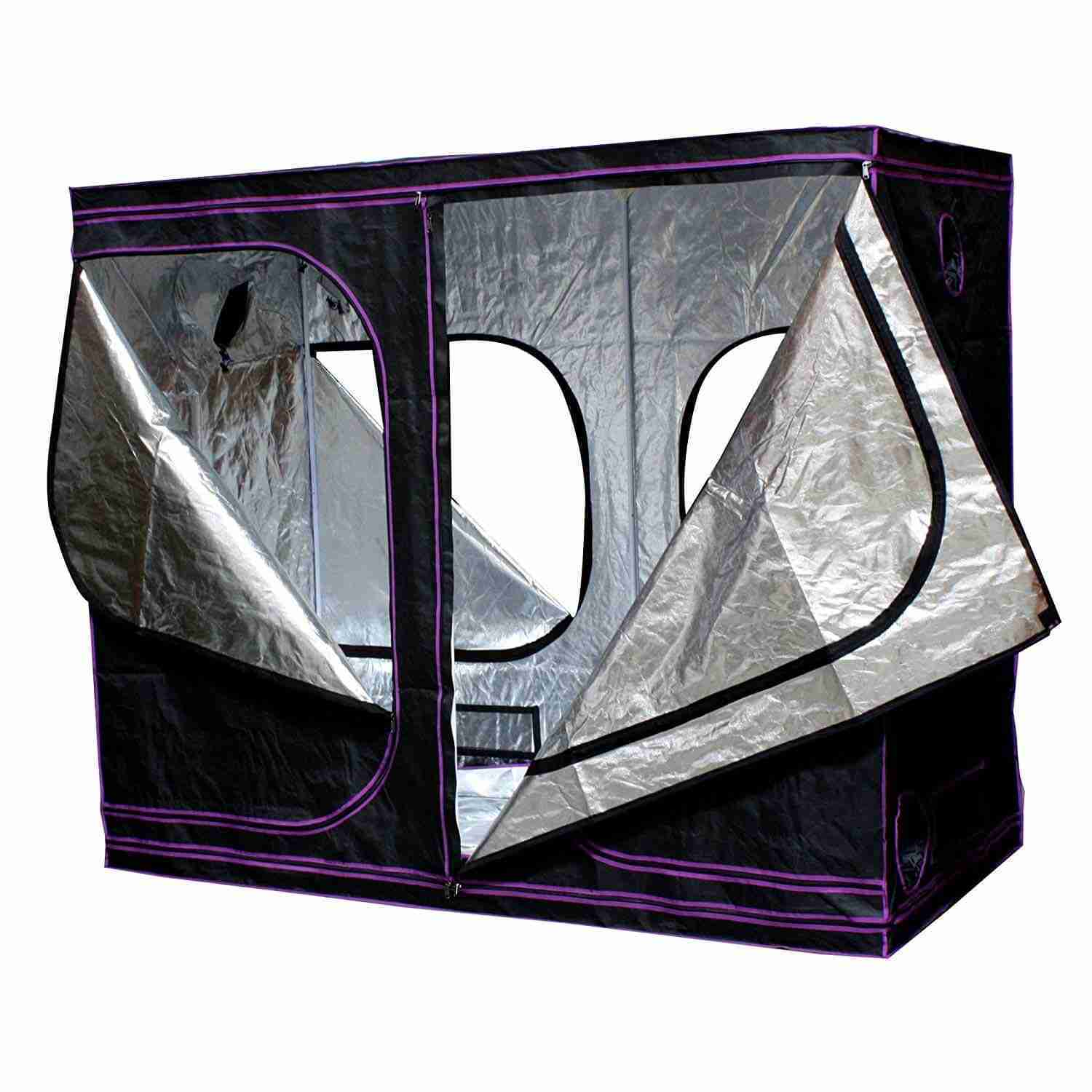 Apollo Horticulture - Mylar Hydroponic Grow Tent for Indoor Plant Growing
