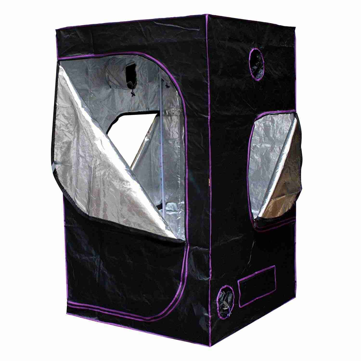 Apollo Horticulture 48x48x80 Mylar Hydroponic Grow Tent for Indoor Plant Growing