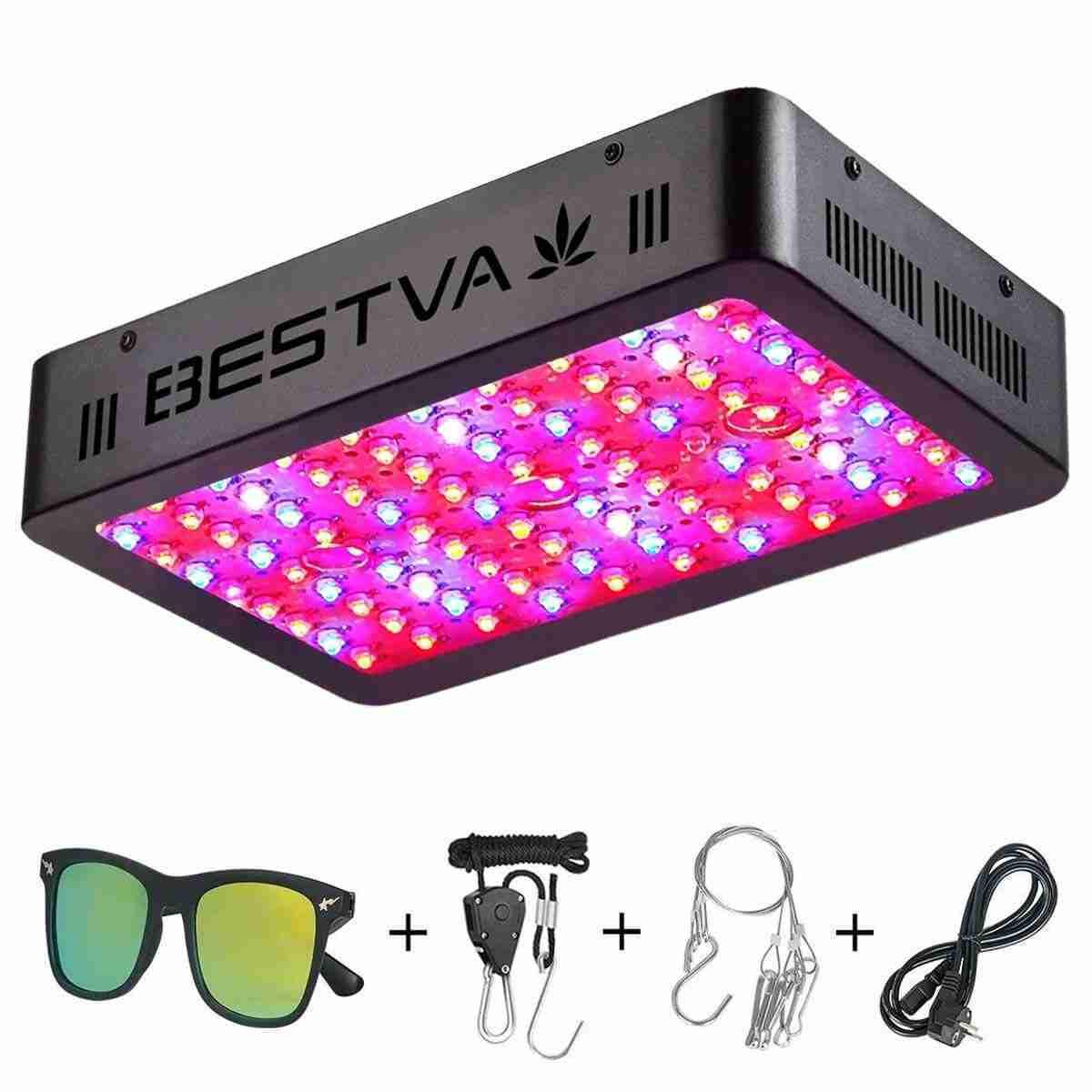 BESTVA 600W / 1000W LED élèvent la lumière