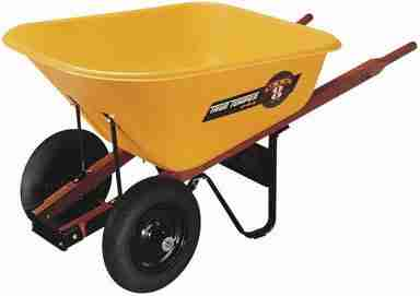 Ames True Temper  – Best 8 Cubic Foot  Wheelbarrow 2017