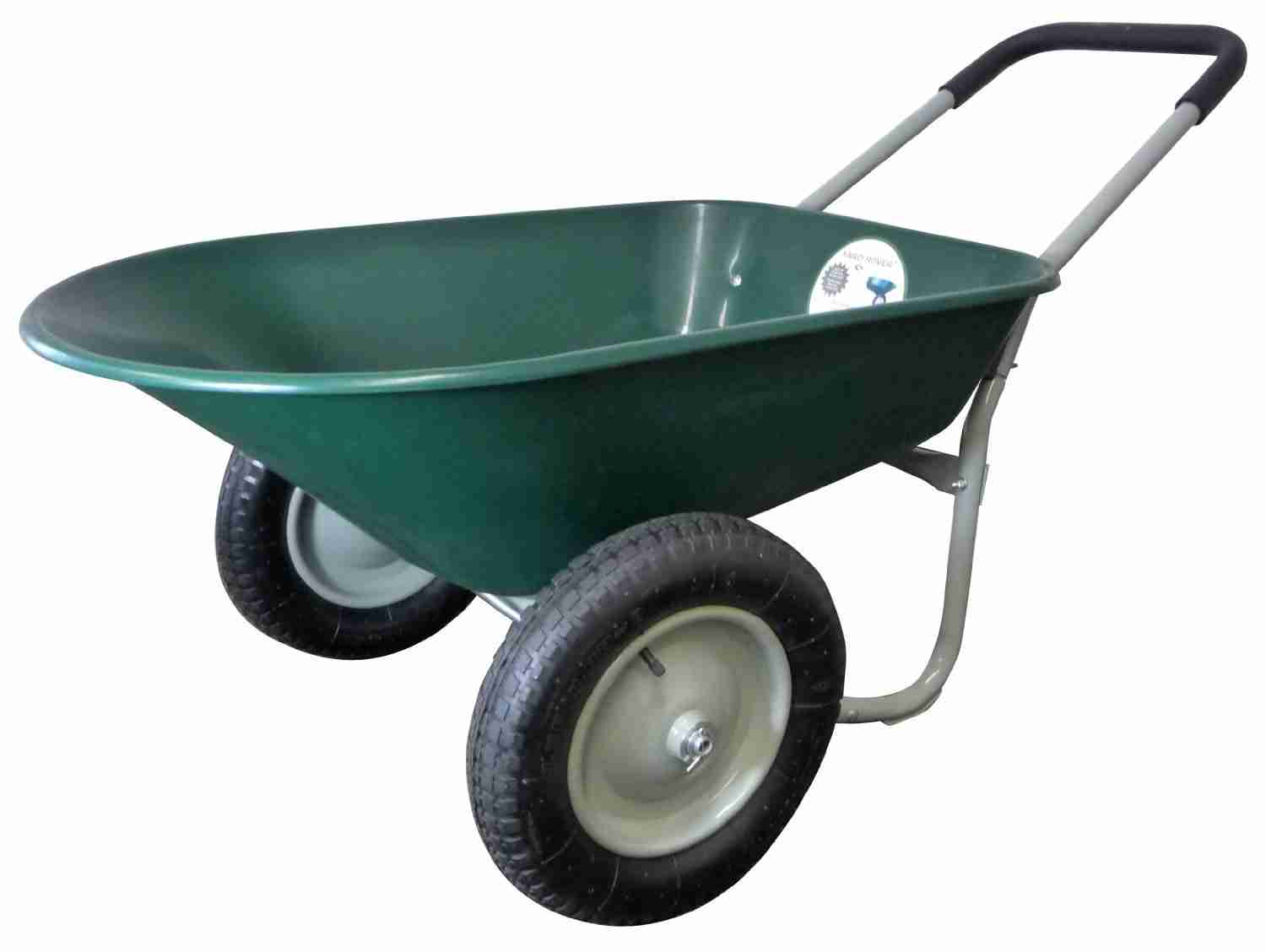 Marathon Yard Rover Wheelbarrow –  Dual Wheel Residential Yard Cart