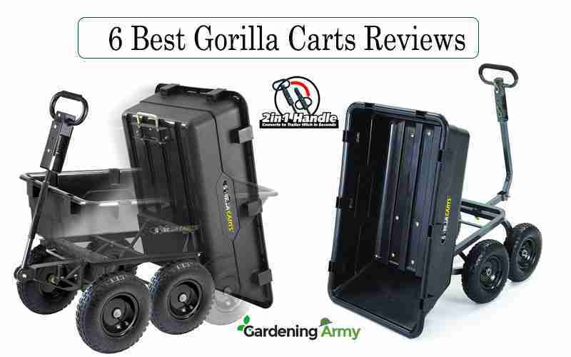 gorilla garden cart reviews