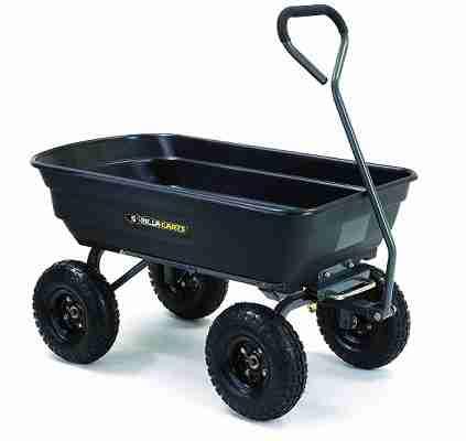 Gorilla GOR4PS Garden Dump Cart