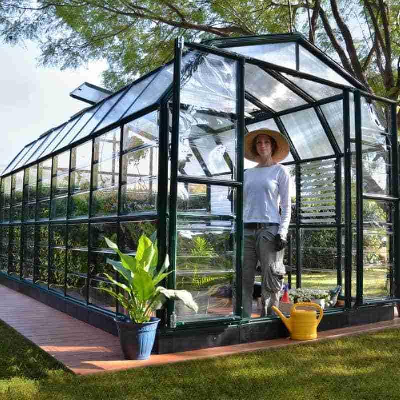 Palram Green Resin Frame Greenhouse