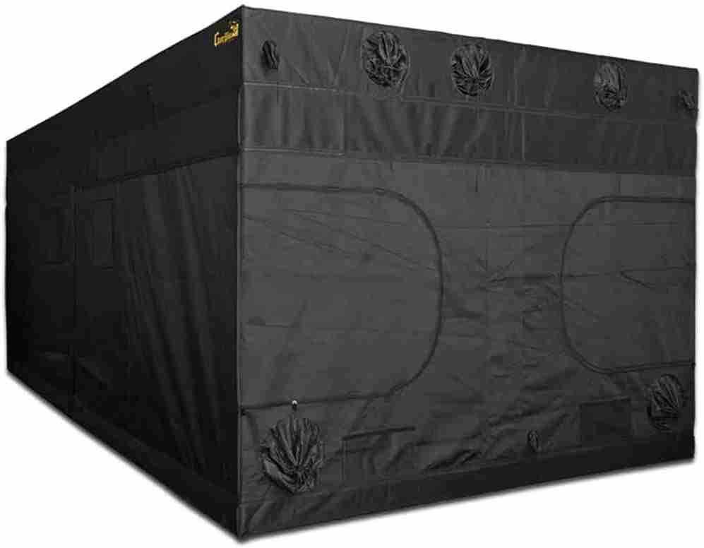 gorilla grow tent ggt1020 isolated on white background