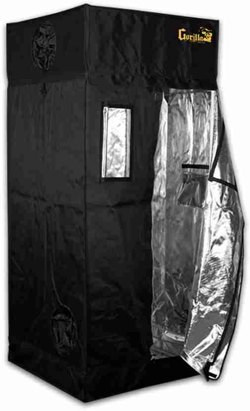 gorilla grow tent ggt33 isolated on white background