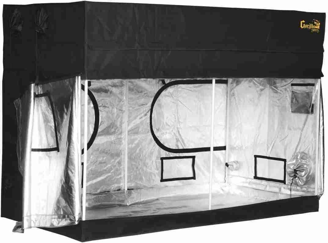 gorilla grow tent lite line ggtlt88 isolated on white background