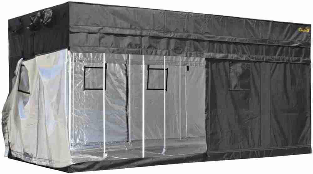 gorilla grow tent original heavy duty free 1' extension kit