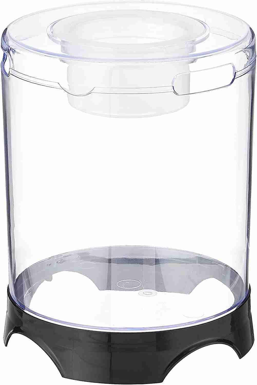penn plax aquaponic betta fish tank isolated on white background