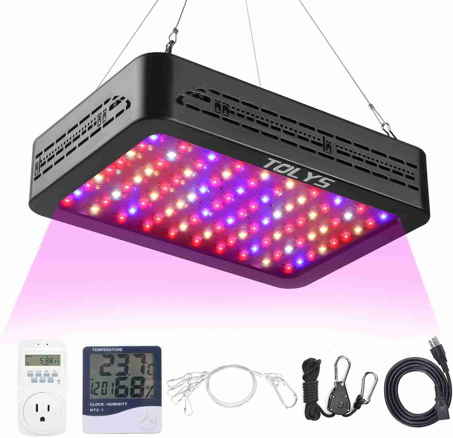 tolys 1000w led grow light for indoor plants